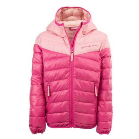 ALPINE PRO OBOKO 2 ružová - Detská bunda
