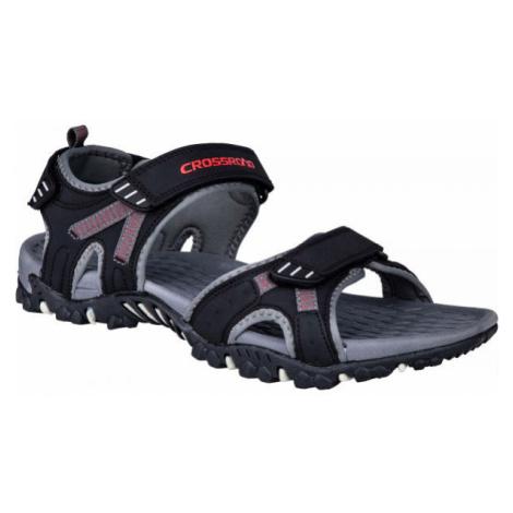 Crossroad MOHSIN červená - Pánske sandále