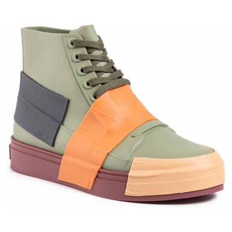 Sneakersy MELISSA - Crew Ad 32437  Green/Orange/Black 53588