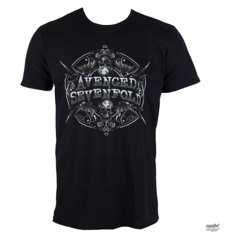 Tričko metal ROCK OFF Avenged Sevenfold Reflections Čierna