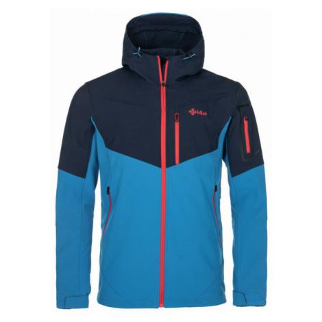 Pánska softshellová bunda Kilpi Presente-M modrá