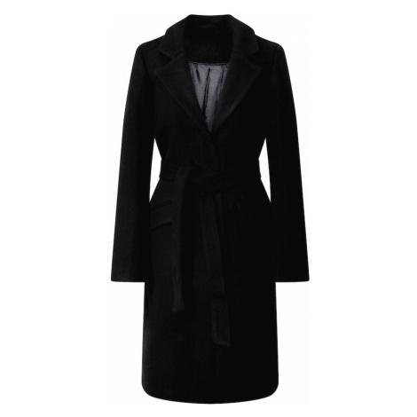 VILA Prechodný kabát  čierna