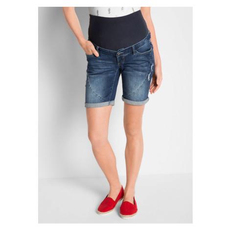 Materské džínsové šortky