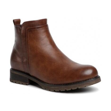 Šnurovacia obuv Jenny Fairy WS0312-02 Imitácia kože/-Imitácia kože