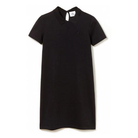 Lacoste WOMEN S DRESS čierna - Dámske šaty