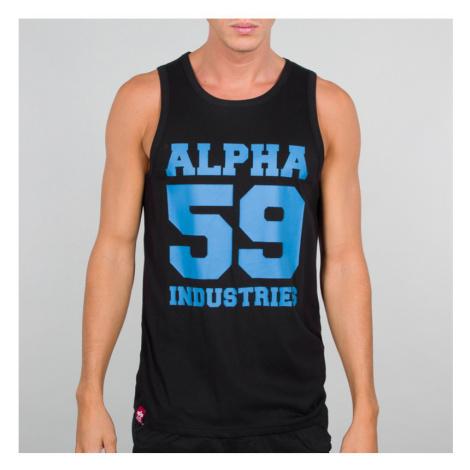 Alpha Industries - 59 Tank - Black/Neon Blue