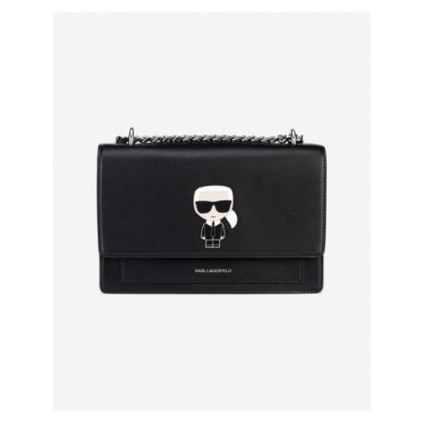 Karl Lagerfeld K/Ikonik Kabelka Čierna