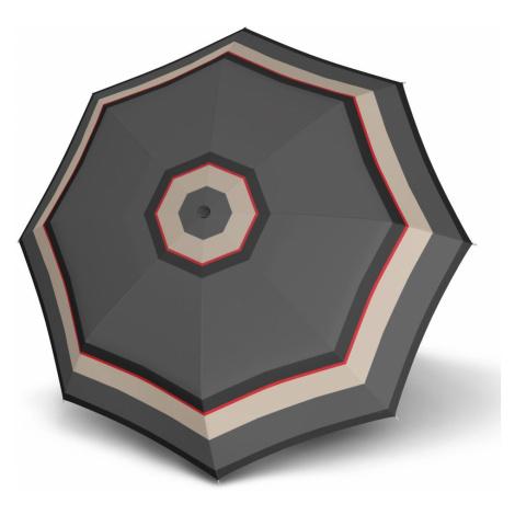 Doppler Tyčový dáždnik Carbonsteel Long Automatic London 714765L - šedá