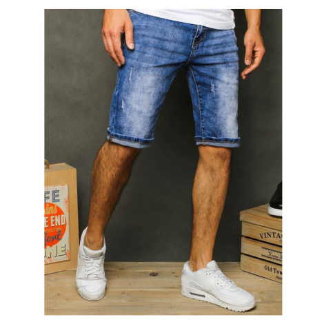 Men's denim blue shorts SX1069 DStreet