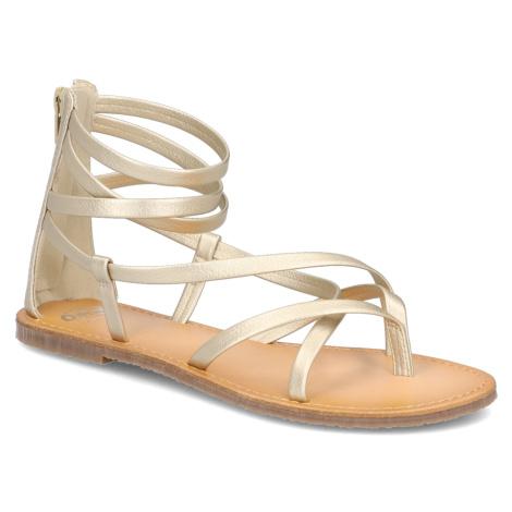 OMG! Sandále zlatá