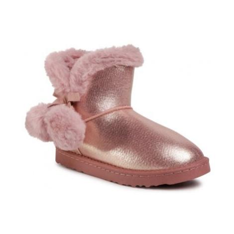 Členkové topánky Nelli Blu CSA20255-03 Látka/-Materiál