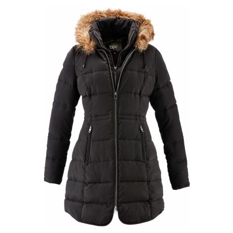 Krátky kabát s kapucňou bonprix