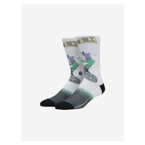Hensley Ponožky Stance Biela