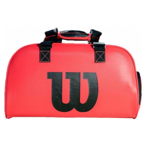 Wilson DUFFEL INFRAED SMALL červená - Športová taška