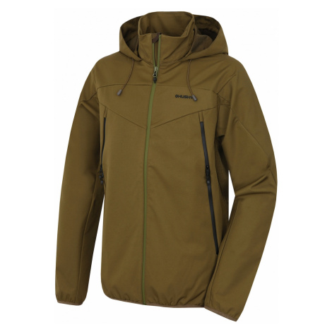 Men's softshell jacket Sonny M dark.khaki Husky