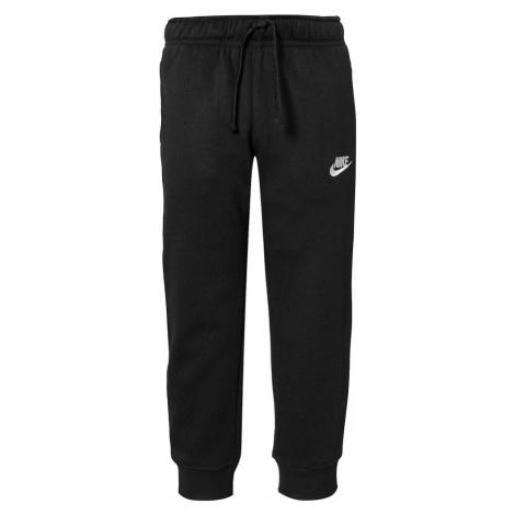 Nike Sportswear Nohavice 'Club'  čierna / biela