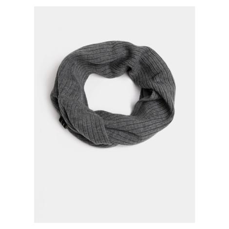 Grey knitted hollow jack & jones tube