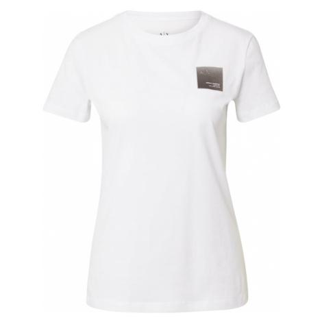 ARMANI EXCHANGE Tričko '3KYTKA'  biela / čierna