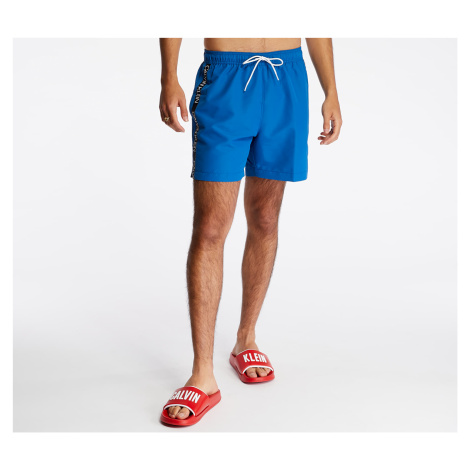 Calvin Klein Medium Drawstring Swim Shorts Snorkel Blue
