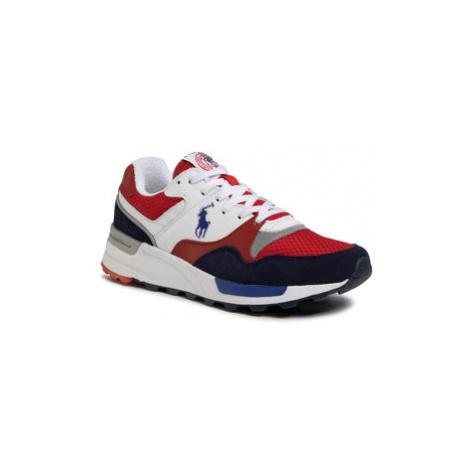 Polo Ralph Lauren Sneakersy Trckster Pony 809785418005 Červená