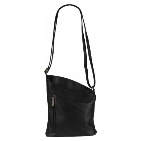 Malá čierna kabelka Angola Nera Oro