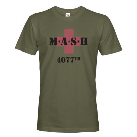 Tričko s potlačou legendárneho seriálu MASH 4077