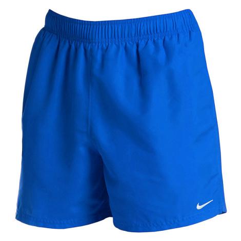 Pánske modré plavecké šortky Nike