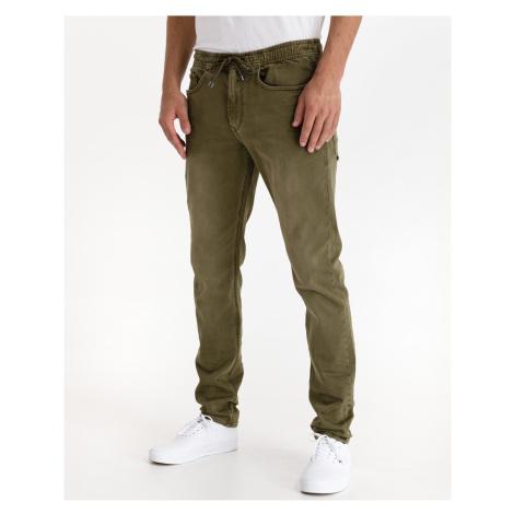Straight fit pre mužov Salsa Jeans - zelená