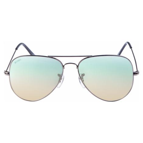 Unisex slnečné okuliare MSTRDS Sunglasses PureAv Youth gun/blue Pohlavie: pánske,dámske