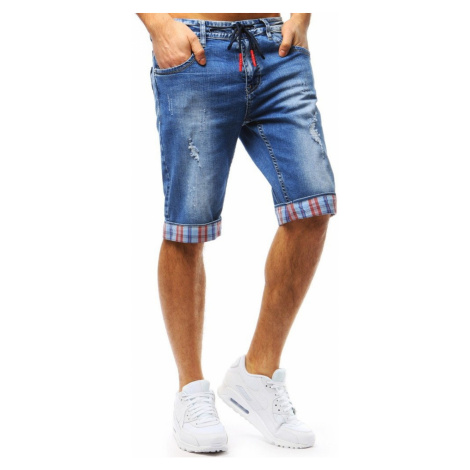 Men's denim shorts blue SX0717 DStreet