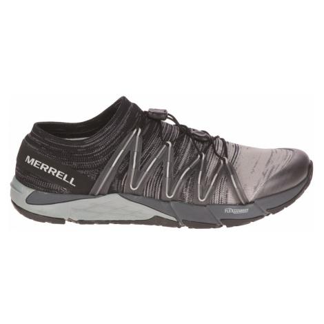Merrell Bare Access Flex Knit Mens Barefoot Running Shoes Black