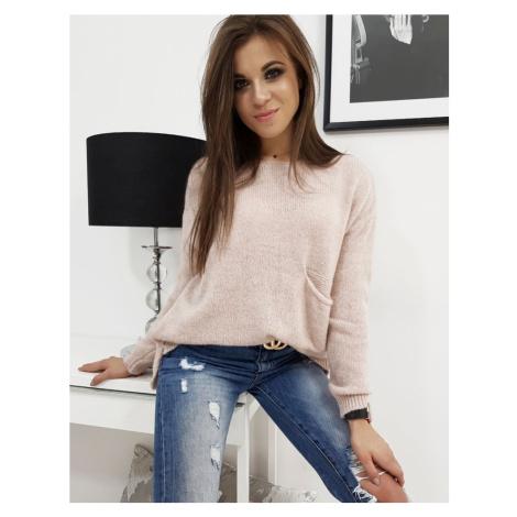 Dámsky sveter ružový my0665