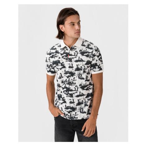 Nike Polo tričko Čierna Biela