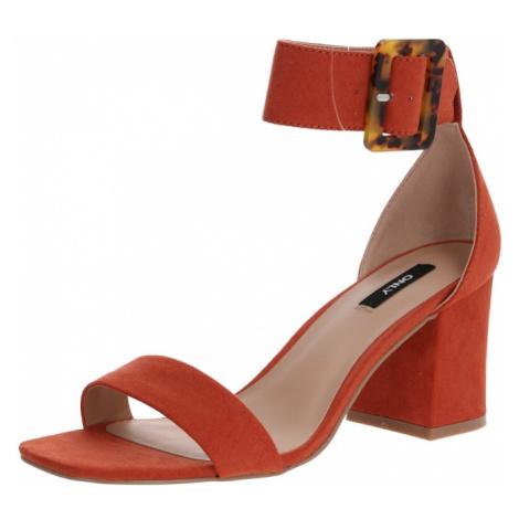 ONLY Remienkové sandále 'ONLAMANDA'  červená
