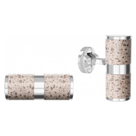 Gravelli Manžetové gombíky z ocele a betónu Unity GJCMSLS109UN