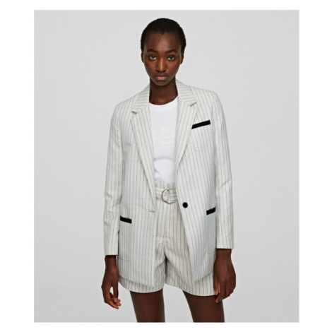 Sako Karl Lagerfeld College Pinstripe Jacket