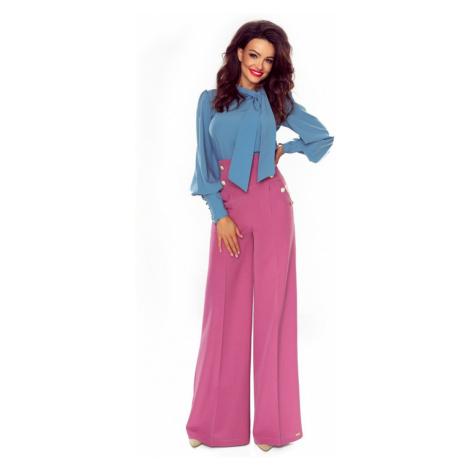 Svetlofialové nohavice Elegance Bergamo