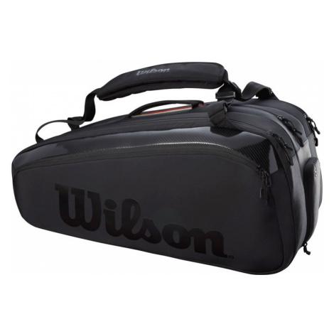 Taška na rakety Wilson Super Tour 15 Pack Pro Staff Black