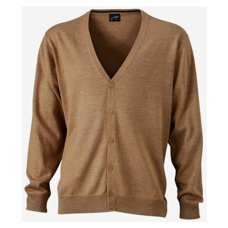 James & Nicholson Pánsky bavlnený sveter JN661