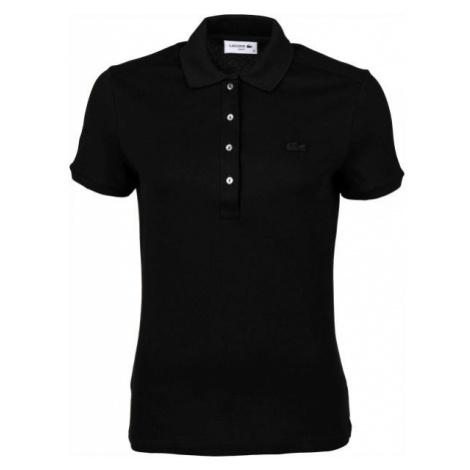 Lacoste WOMEN S/S POLO čierna - Dámske polo tričko
