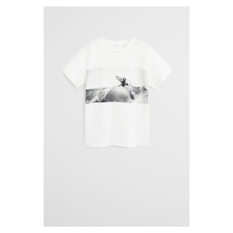 Mango Kids - Detské tričko Peter 110-164 cm