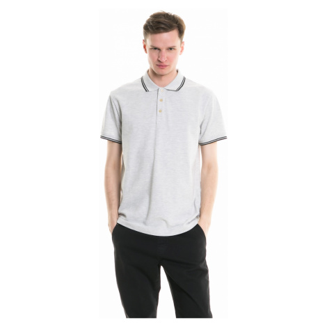 Big Star Man's Shortsleeve Polo T-shirt 154395 Light -984