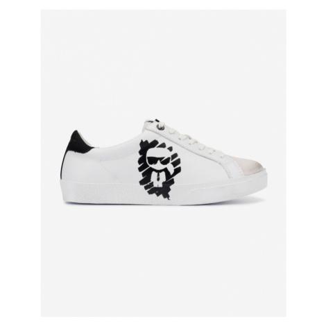 Karl Lagerfeld Skool Ikonic Tenisky Biela