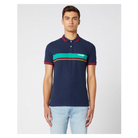 Wrangler Polo tričko Modrá