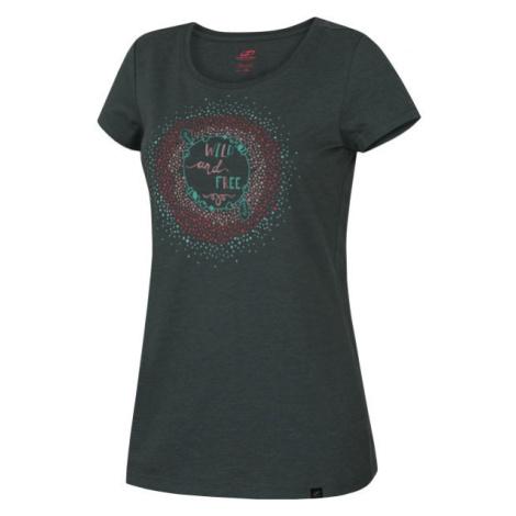 Hannah ABBY čierna - Dámske tričko