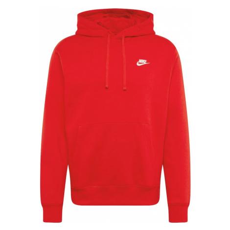 Nike Sportswear Mikina 'Club'  červená