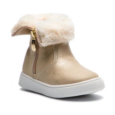Členkové topánky Nelli Blu CM011-3A Materiał tekstylny,koža ekologická