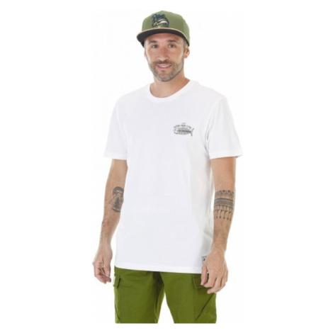 Picture PHILBROOK biela - Pánske tričko s potlačou