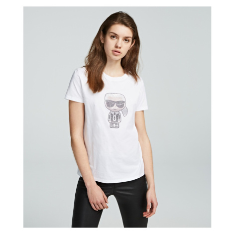 Tričko Karl Lagerfeld Ikonik Rhinestone Karl T-Shirt