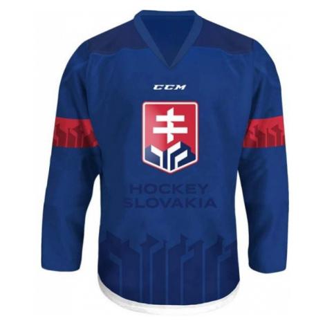 CCM JR HOKEJOVÝ DRES SLOVAKIA modrá - Juniorský hokejový dres